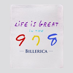 Billerica Throw Blanket
