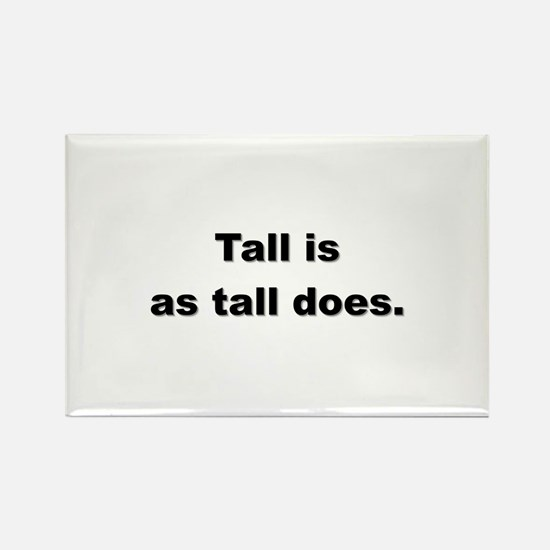 Tall people Rectangle Magnet