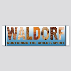 Waldorf Sticker (Bumper)