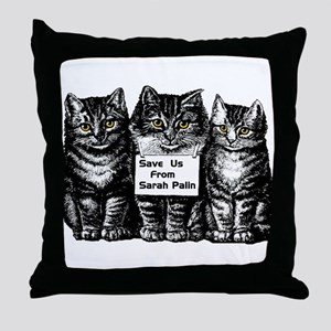 Save Us! Throw Pillow