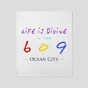 Ocean City Throw Blanket