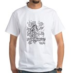 Anime Styled Characters White T-Shirt