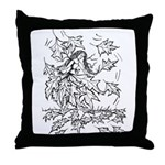 Anime Styled Characters Throw Pillow