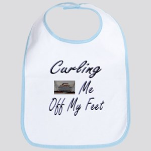 Curling Swept Me Off My Feet Bib