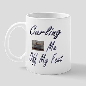 Curling Swept Me Off My Feet Mug