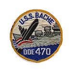 """USS BACHE 3.5"""" Button"""
