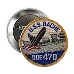 """USS BACHE 2.25"""" Button"""