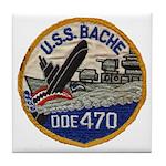 USS BACHE Tile Coaster