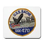 USS BACHE Mousepad