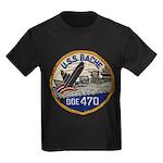 USS BACHE Kids Dark T-Shirt