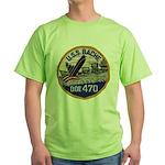 USS BACHE Green T-Shirt