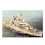 USS BACHE Postcards (Package of 8)