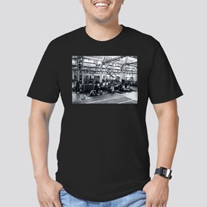 Scooter Factory Men's Fitted T-Shirt (dark)