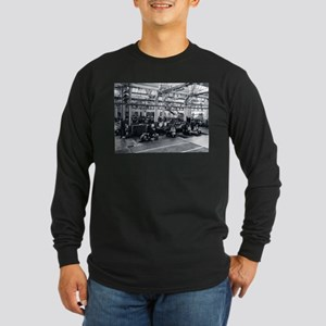 Scooter Factory Long Sleeve Dark T-Shirt