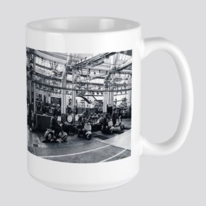Scooter Factory Large Mug