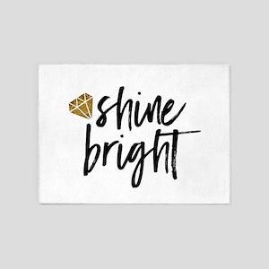 Shine bright 5'x7'Area Rug