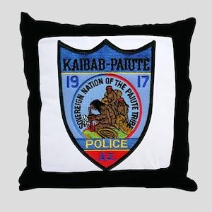 Kaibab Paiute Police Throw Pillow