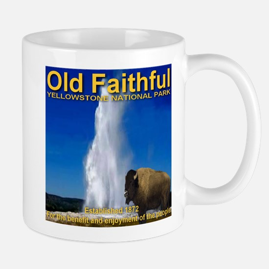 Old Faithful Yellowstone Nati Mug