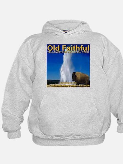 Old Faithful Yellowstone Nati Hoodie