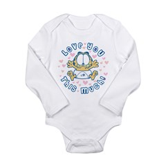 Love You This Much Long Sleeve Infant Bodysuit