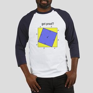 Pythagorean Theorem w/back Baseball Jersey