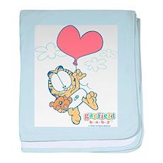 Heart Balloon baby blanket