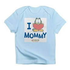 Baby GARFIELD, Heart Mommy, Infant T-Shirt