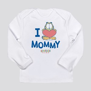 Baby GARFIELD, Heart Mommy, Long Sleeve Infant T-S