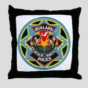 Hualapai Tribal Police Throw Pillow