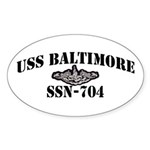 USS BALTIMORE Sticker (Oval)
