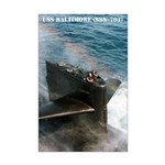 USS BALTIMORE Mini Poster Print