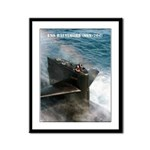 USS BALTIMORE Framed Panel Print