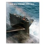 USS BALTIMORE Small Poster