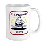 USS BALTIMORE Large Mug