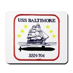 USS BALTIMORE Mousepad