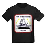 USS BALTIMORE Kids Dark T-Shirt
