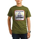 USS BALTIMORE Organic Men's T-Shirt (dark)