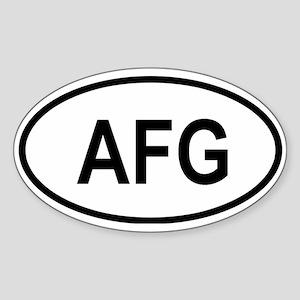 afghanistan Sticker