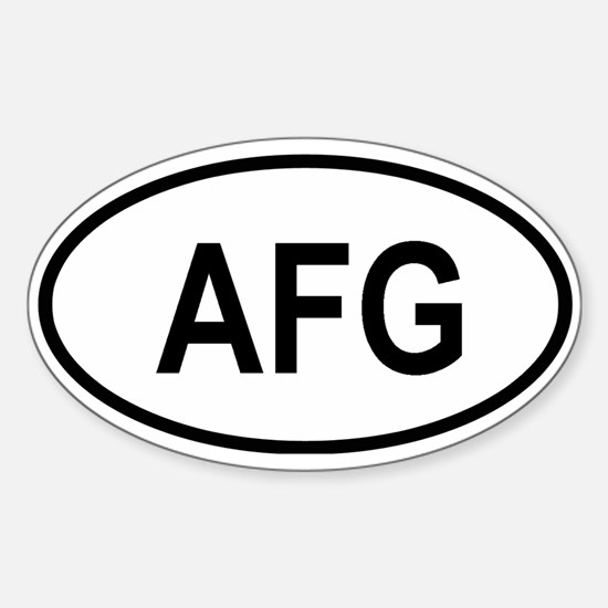 afghanistan Decal