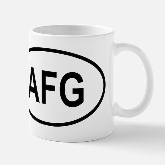 Unique Afghanistan Mug