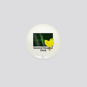 General Hospital Chick Mini Button