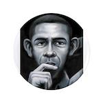 """Barack Obama 3.5"""" Button"""