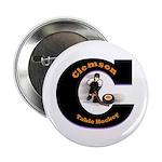 """clemson table hockey 2.25"""" Button"""