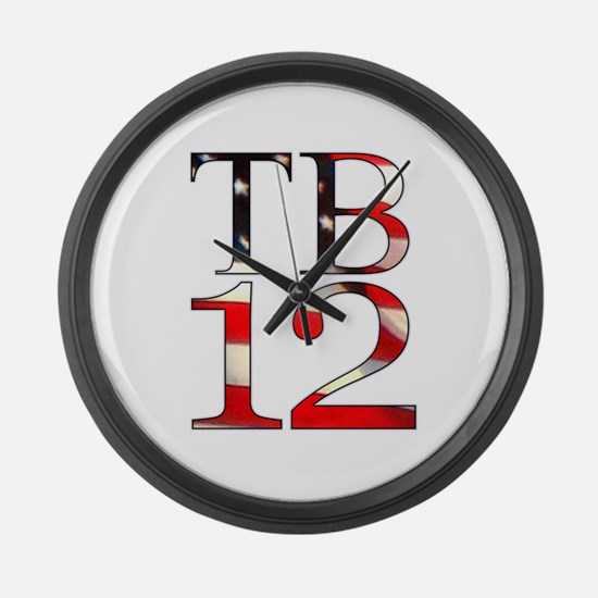 TB 12 Large Wall Clock