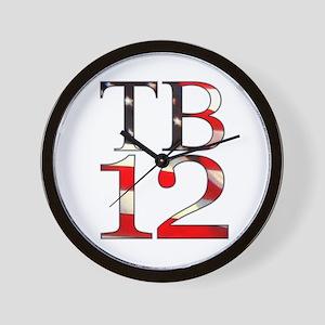 TB 12 Wall Clock