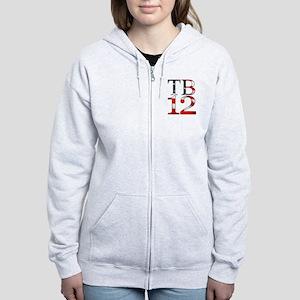 TB 12 Women's Zip Hoodie