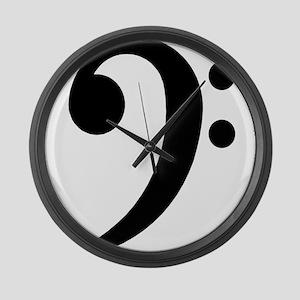 Bass Large Wall Clock