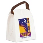 Logo w Name Canvas Lunch Bag
