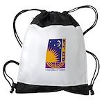 Logo w Name Drawstring Bag