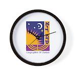 Logo w Name Wall Clock